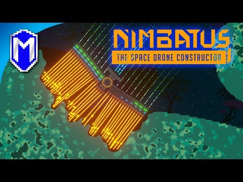 Nimbatus - Mining Drones - Let's Play Nimbatus - The Space Drone Constructor Gameplay Livestream