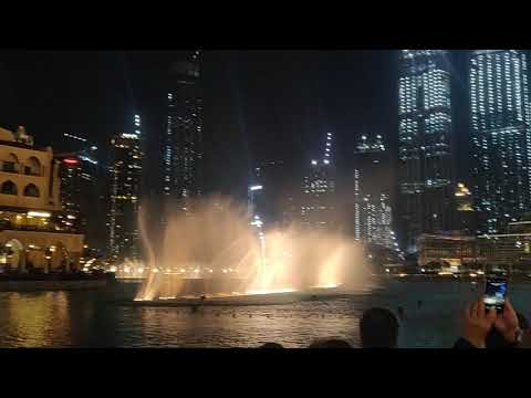 Dubai Fountain, Burj Khalifa, Dubai