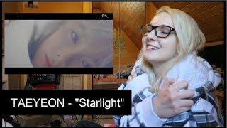 """TAEYEON(태연) - """"Starlight (feat. DEAN)"""" MV REACTION"""