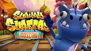 SUBWAY SURFERS GAMEPLAY PC HD 2019 - MOSCOW - DINO BIG BLUE BOARD