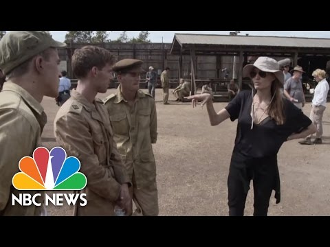 "Angelina Jolie's ""Unbroken"": Behind The Scenes Interviews 