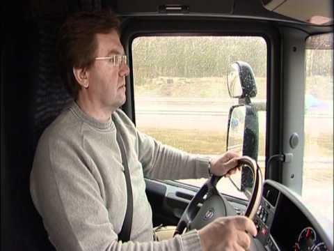 Scania driver care - Exercises for truck drivers