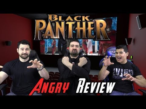 Black Panther Angry Movie Review