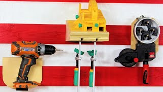 20 More French Cleat Ideas for Your Tool Storage 8