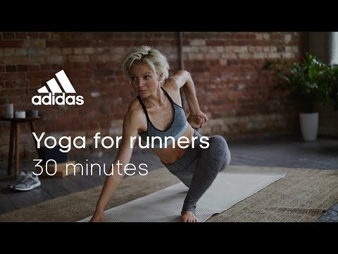 30 min Yoga For Runners with Ida May | adidas women workouts