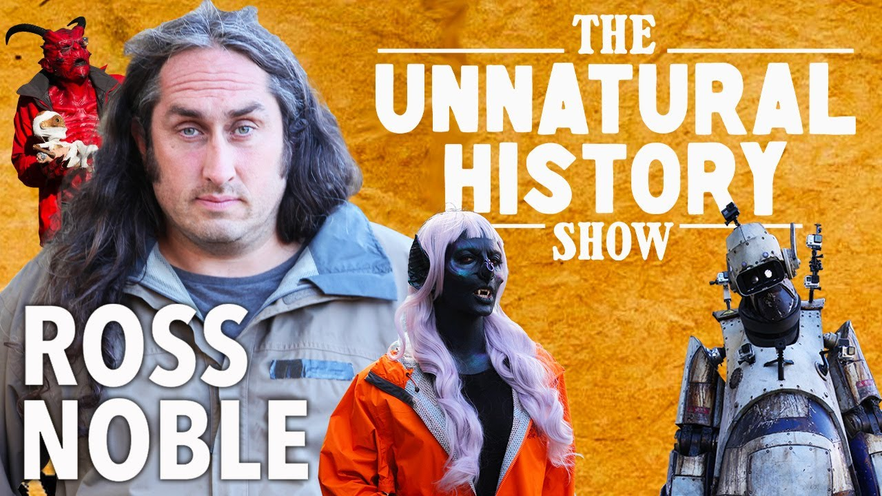 Download The Unnatural History Show with Ross Noble   Official Series Release Trailer