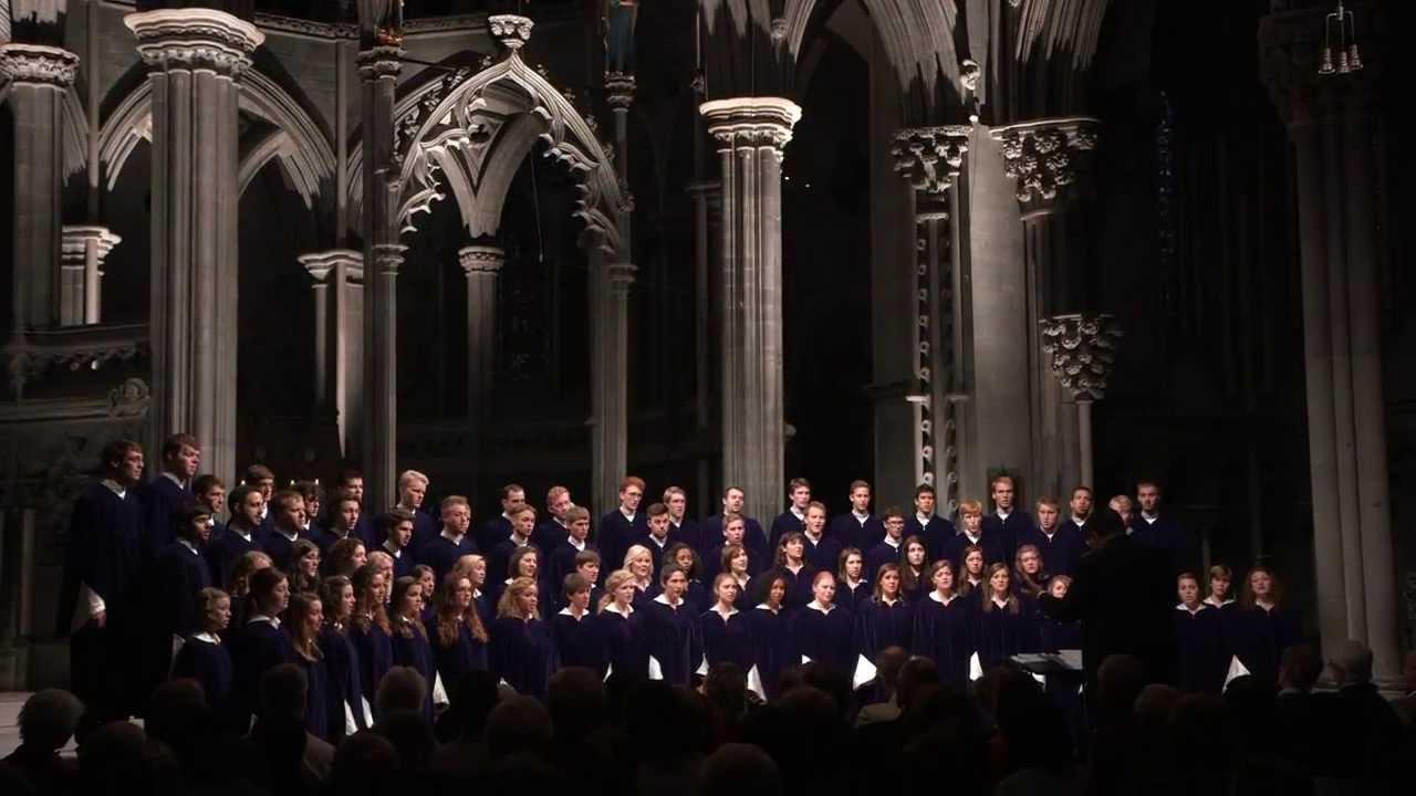 "St. Olaf Choir - ""Even When He Is Silent"" - Kim André Arnesen"