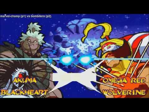 [HD] - Fightcade - Marvel Super Heroes Vs Street Fighter - Marvel-Champ(PHIL) Vs Bombitero(PHIL)