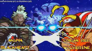 [HD] - Fightcade - Marvel Super Heroes Vs Street Fighter - Marvel-Champ(PHIL) Vs Bombitero(PHIL)