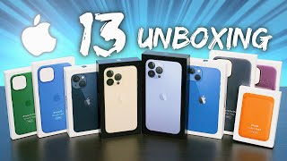 My Massive iPhone 13 Pŗo Unboxing!