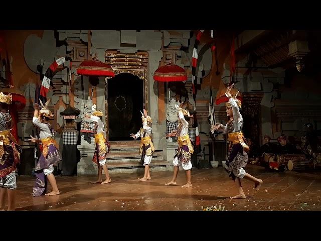 Tari Kelinci (Rabbit Dance) 2021 Balerung Stage Peliatan