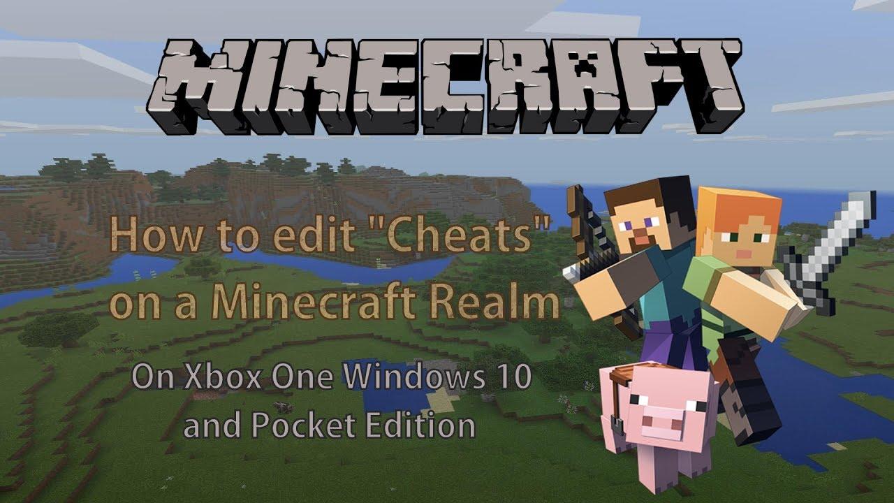 cheats for minecraft pc windows 10