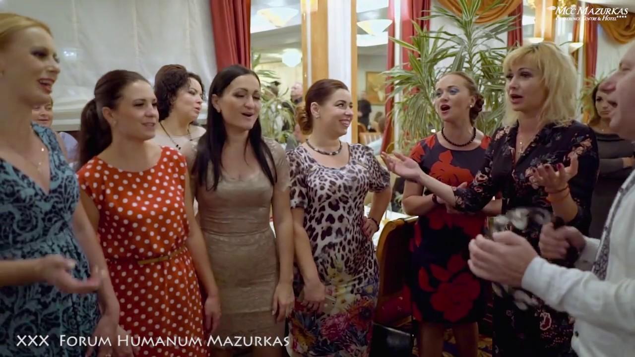 """XXX F.H.Mazurkas-Narodowy Chór Ukrainy im. """"G.G.Wierowki""""--Piesni biesiadne  cz.1"""