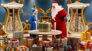 Видео поздравление от Деда Мороза с новым годом 2021 для Андрея - в гостях у Дедушки Мороза