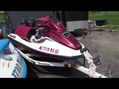 1998 SEADOO GTX LIMITED 951 FOR SALE PARTS ONLY NOT WHOLE MACHINE