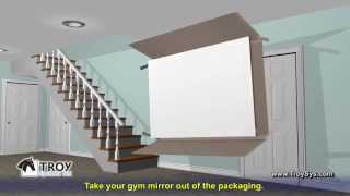 Installing Gym Mirrors
