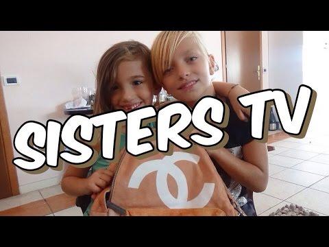 VLOG  IL MIO GIORNO PIU' BELLO NEL MONDO Sisters TV| What's in my school bag
