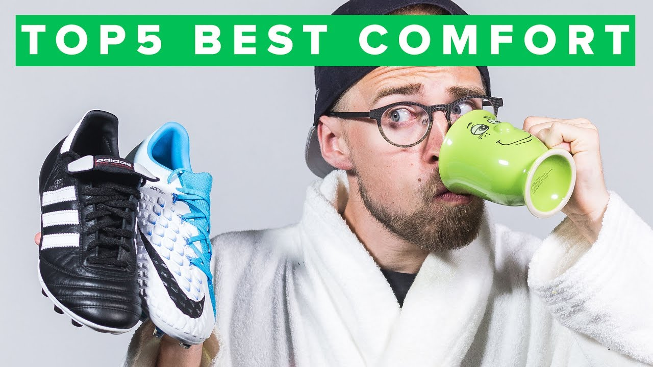 9f23268f5a2 TOP 5 MOST COMFORTABLE FOOTBALL BOOTS - YouTube