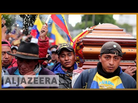 Ecuador emergency: Protesters infuriated by killings