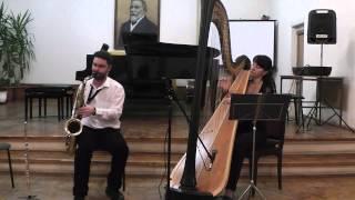 A Child Is Born  (Thad Jones)  saxophone + harp