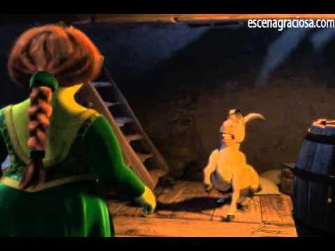 Escena Graciosa de ''Shrek 1''- Eres una Ogra