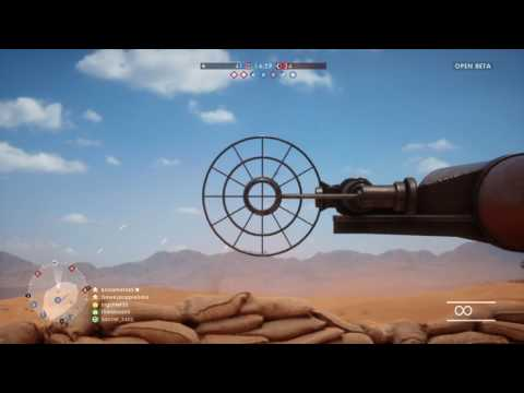 Battlefield™ 1 (ANTI AIRCRAFT GUN)