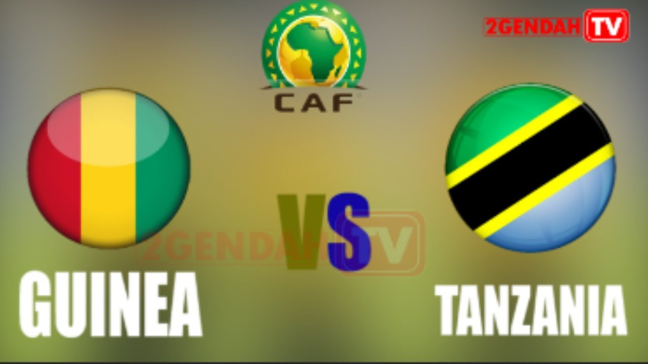 ????#LIVE TANZANIA VS GUINEA | CHAN 2021