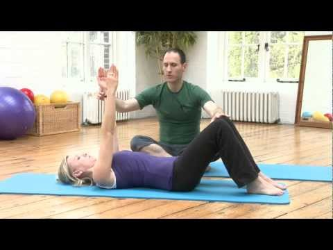 knee open close pilates exercise from yoopod  youtube