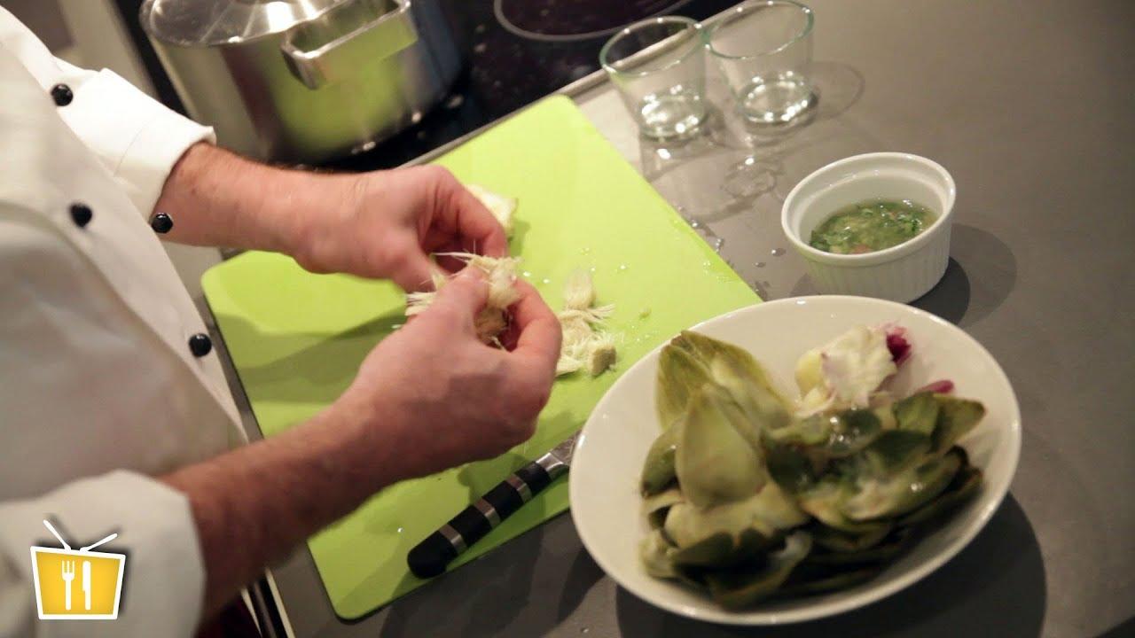 Artischocke Zubereiten Nach Originalrezept Französisch Kochen Mit