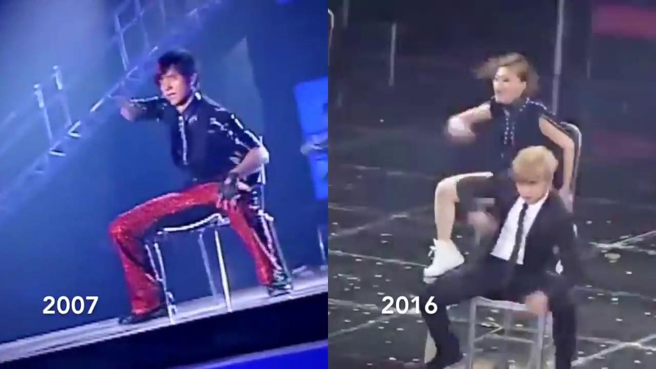 羅志祥 - 「精舞門」 SPECIAL 椅子舞 - 2007 vs. 2016 (10年后的對比) - YouTube