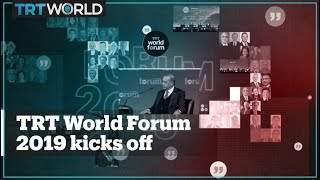 Global leaders gather for TRT World Forum 2019