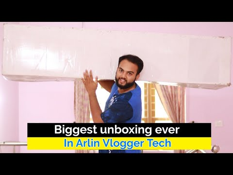 Biggest Unboxing Ever in Arlin Vlogger Tech 🔥ഇത് സംഭവം പൊളിച്ചു 😍 First In Malayalam
