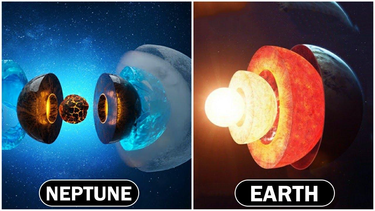 धरती के बाद इस Planet का Core देख कर आप हैरान हो जायेंगे  Earth Vs Other Planet Core Comparison