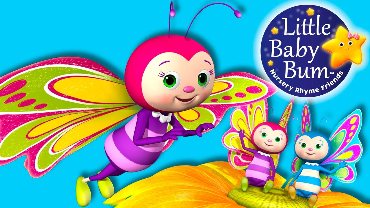 Little Baby Bum Butterfly Song Nursery Rhymes For