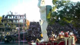 2009 Rose Bowl Parade - Prairie View Marching Storm (The Honda ASIMO Float)