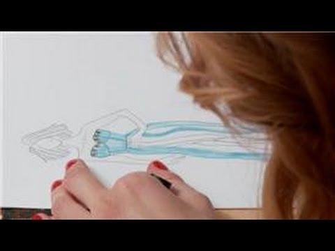 Designing Dresses How Do Sketch Dress Design