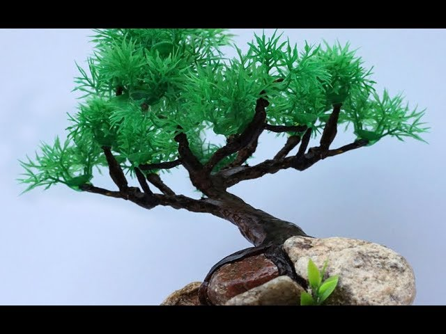 Diy Artificial Bonsai Plant Using Paper And Clay 7 Steps With Pictures Instructables