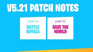 Fortnite New Update V5.21 Patch on Oneplus 5T