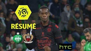 AS Saint-Etienne - OGC Nice (0-1)  - Résumé - (ASSE - OGCN) / 2016-17