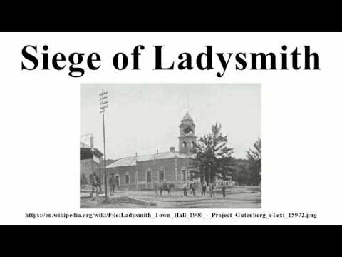 Siege of Ladysmith