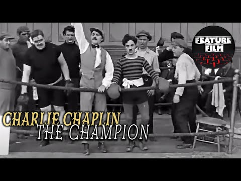CHARLIE CHAPLIN - The Champion (1915 HD) | Best Charlie Chaplin Comedy Videos | Silent Movie