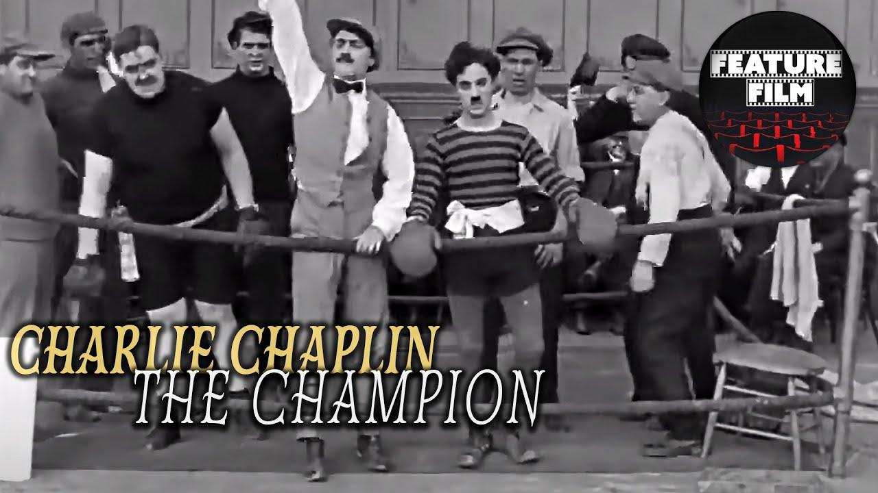 CHARLIE CHAPLIN - The Champion (1915 HD) | Best Charlie Chaplin Comedy Videos | Silent Movie