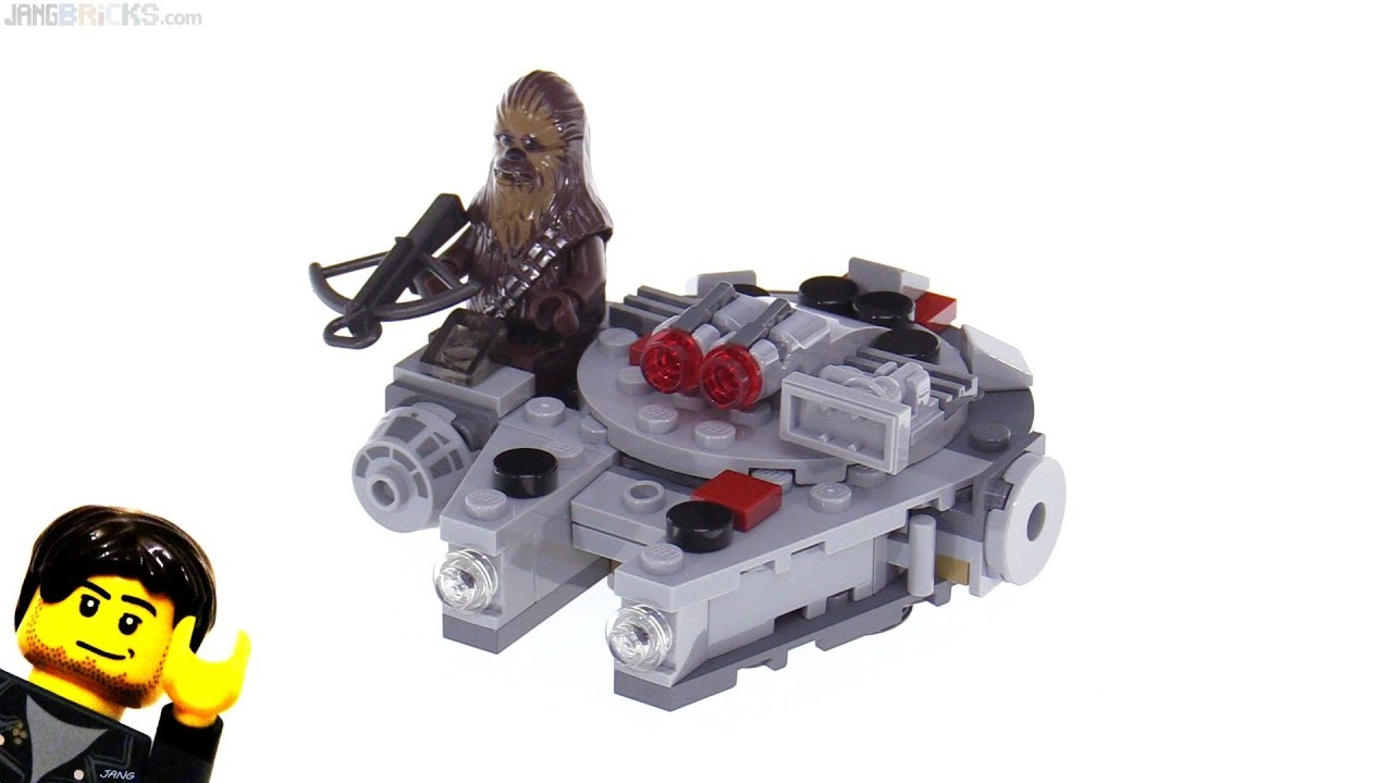 Lego Star Wars Millennium Falcon Microfighter Review 75193 Youtube