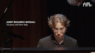 Semifinalist Josef Edoardo Mossali at Teatro Edi/Barrio's – Liszt, Ravel