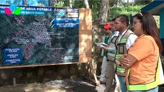 Nicaragua: Avanza ampliación del sistema agua potable en Santo Tomás en Chontales