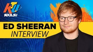 Ed Sheeran On His Awkward Moment With Emilia Clarke
