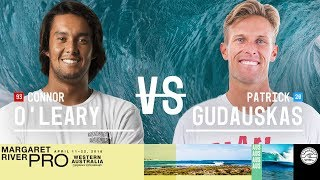 Connor O'Leary vs. Patrick Gudauskas - Round Two, Heat 10 - Margaret River Pro 2018