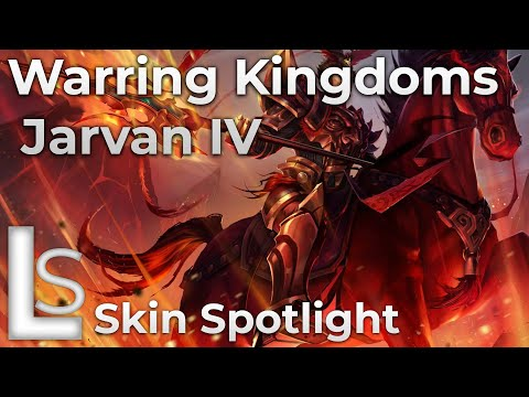 Warring Kingdoms Jarvan IV - Skin Spotlight - Lunar Revel: Warring Kingdoms - League of Legends