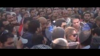 تحرش جنسي بليلى علوى وطردها من التحرير
