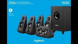 Logitech Z506 5.1 3D Sound System Unboxing